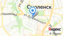 Смоленский областной театр кукол им. Д.Н. Светильникова на карте