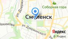Web-canape на карте