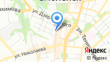 Днепр на карте