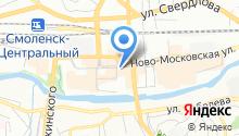 BK на карте