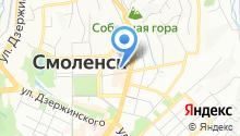 Автоград67 на карте