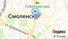 Областная детская библиотека им. И.С. Соколова-Микитова на карте