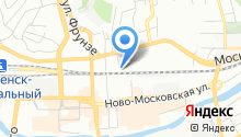 HelpDesk на карте
