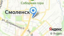 Анега на карте