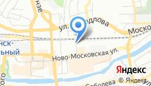 ASK ГЛОНАСС на карте