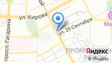 Автовокзал, г. Смоленск на карте