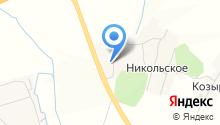 Никольский на карте