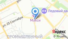 Юров Е.О. на карте