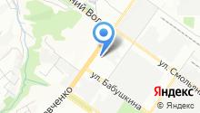 АвтоМирСмоленск на карте
