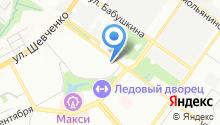 Автодом на карте