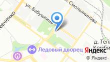 Авангардспецмонтаж, ЗАО на карте