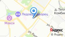 LASERWAR на карте