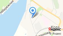 Отдел МВД России по Кольскому району на карте