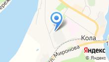 Катрен на карте