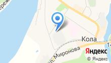 Прокуратура Кольского района Мурманской области на карте