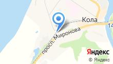Межрайонная инспекция Федеральной налоговой службы №7 по Мурманской области на карте