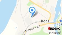 Кольский транспортный колледж на карте