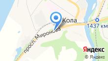 Следственный отдел по Кольскому району на карте