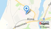 Кольская центральная районная больница на карте