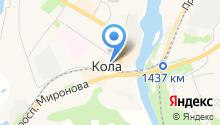 Администрация Кольского района на карте