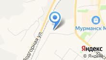 Мурманскводоканал на карте