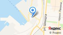 Северный экспедиционный отряд аварийно-спасательных работ, ФГБУ на карте