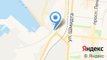 Малярно-кузовной центр на карте