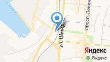 Амега на карте