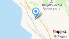Автопорт на карте