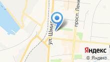 Автосервис на Театральном на карте