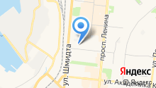 Автошкола, ДОСААФ России на карте