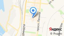 Адвокат Москвина Т.Н. на карте