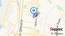 Управление МВД России по Мурманской области на карте