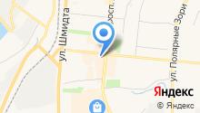 Амиранта на карте