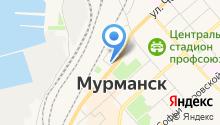 Автовокзал г. Мурманска на карте