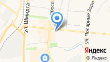 Астра на карте