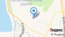 Ателье на ул. Бочкова на карте