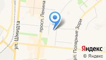 Военный комиссариат Мурманской области на карте