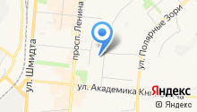 Управление по делам ГО, защите населения от ЧС и пожарной безопасности Мурманской области на карте