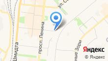 Адвокат Шамолюк И.А. на карте