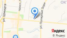 Арбитражный суд г. Мурманска на карте