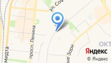 Адвокатский кабинет Каминского А.М. на карте