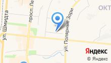 Region Promoution на карте