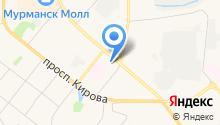 Детская театральная школа г. Мурманска на карте