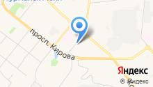 Автомойка и шиномонтажная мастерская на Заводской на карте