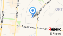 Архивный отдел Управления по обеспечению деятельности органов местного самоуправления г. Мурманска на карте
