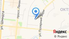 Архивный сектор Администрации г. Мурманска на карте