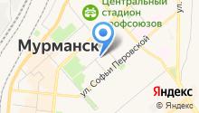 Аст-Мурманск на карте
