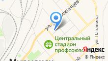 Комитет по культуре Администрации г. Мурманска на карте