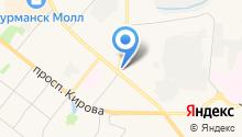 Автомен на карте